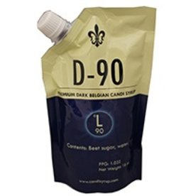 Adjuncts D90 Belgian Candi Syrup 1 Lb Pouch (90 Lovibond)