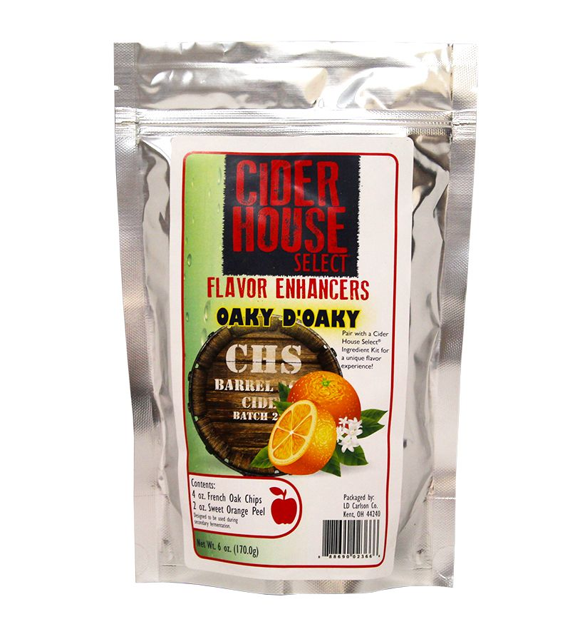 Brewers Best Cider House Flavor Enhancers- Oaky D'Oaky