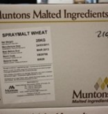 DME Muntons 55 Lb Plain Wheat Spray Dried Malt Extract