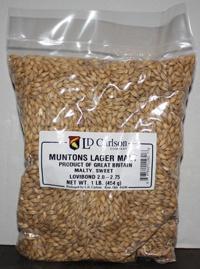 Grain Muntons Lager Malt 1 Lb