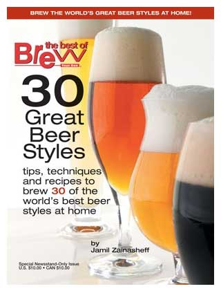 Brew Your Own 30 Great Beer Styles -  Jamil Zainasheff