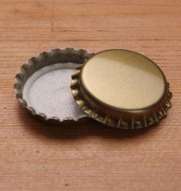 BSG 29 mm Gold Crown Caps, Bag of 100
