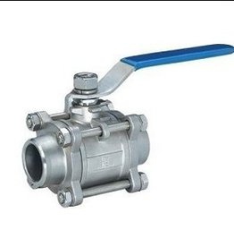 "Old Ale Wholesale Ball Valve 3 Piece, 1/2"" F Npt, Ss 304"
