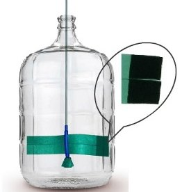 Third Coast Clean Bottle Express Carboy Scrubber