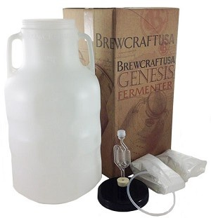 BrewCraftUSA 6.5 Gallon Genesis Fermenter Bundle