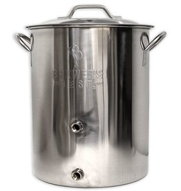 Brewers Best Brewer's Best Basic Brewing Kettle 16 Gallon Two Ports Complete Setup