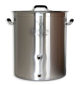 Brewers Best Brewer's Beast Brewing Kettle 16 Gallon Two Ports Complete Setup