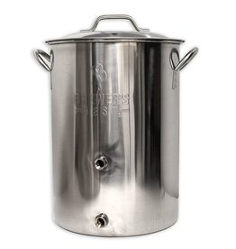 Brewers Best Brewer's Best Basic Brewing Kettle 8 Gallon Two Ports