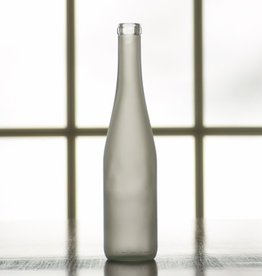 BSG 375 mL Frosted Stretch Hock Bottles Case Of 12