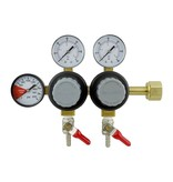 CO2  Dual Regulator 5/16 Barb