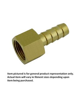 1/2 FPT X 1/2 Barb Brass