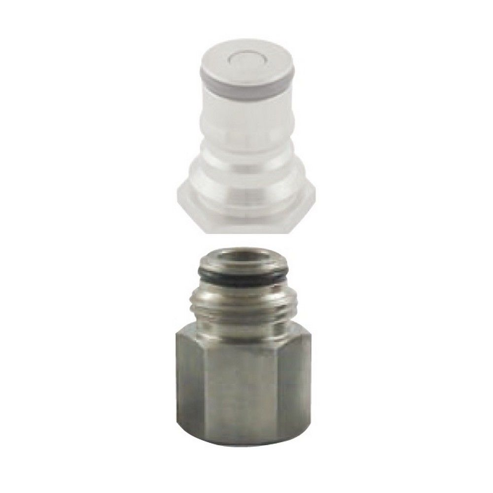 Ball Lock Adapter Liq 1/4 FPT