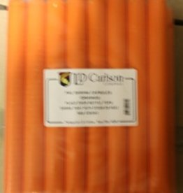 LDC Orange PVC Shrink Capsules (500 Bulk)