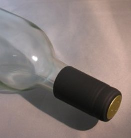 LDC Black PVC Shrink Capsules 30 Pack
