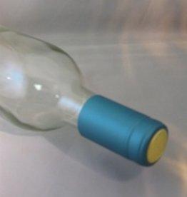 LDC Metallic Solid Light Blue PVC Shrink Capsules 30 Pack