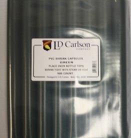 LDC Green PVC Shrink Capsules (500 Bulk)