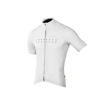 Pedla The Pedla - Full Gas - Pro race cut short sleeve jersey with 4.5CM Extended Sleeve Length is anatomically shaped to fit closly to the body. Constructed from a  super lightweight Dimple Dry Aero fabric, this set-in-sleeve jersey uses the latest in quick-dr