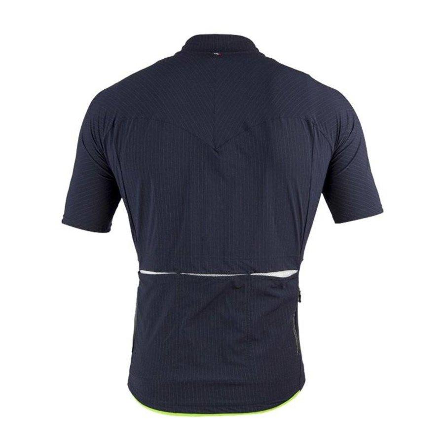 Q36.5 L1 Pinstripe Jersey  - Black