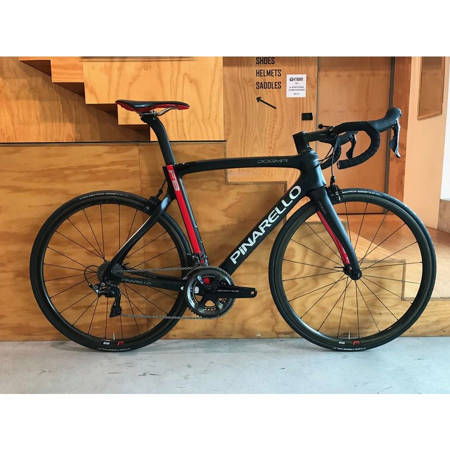 Pinarello Dogma F8 54cm 9100 Mechanical Full Bike with Zipp 202 ($8000 without wheels)