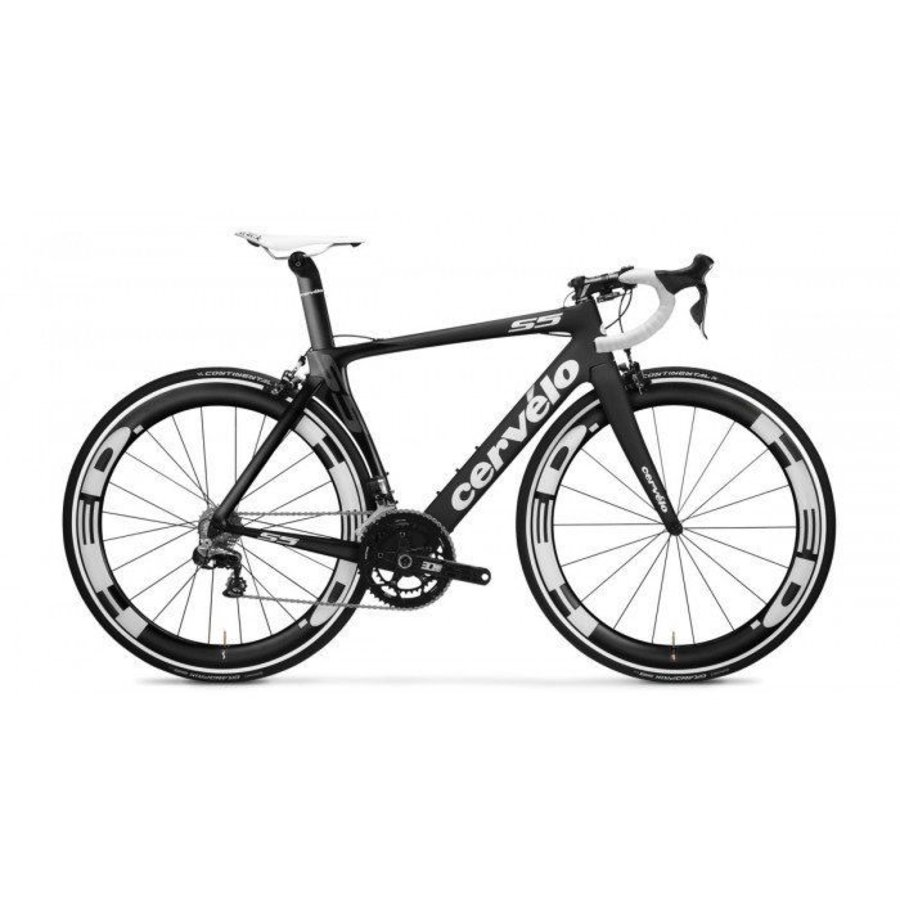 Cervelo S5 - Shimano 11sp Di2 - HED Jet 6+