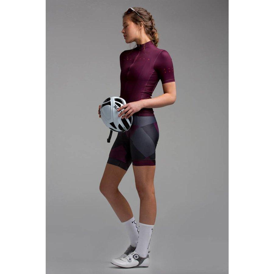 PEDLA Womens Shortsleeve Jersey - Plum