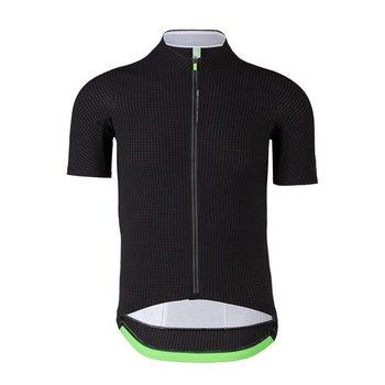 Q36-5 Q36.5 L1 Black Pinstripe Short Sleeve Jersey
