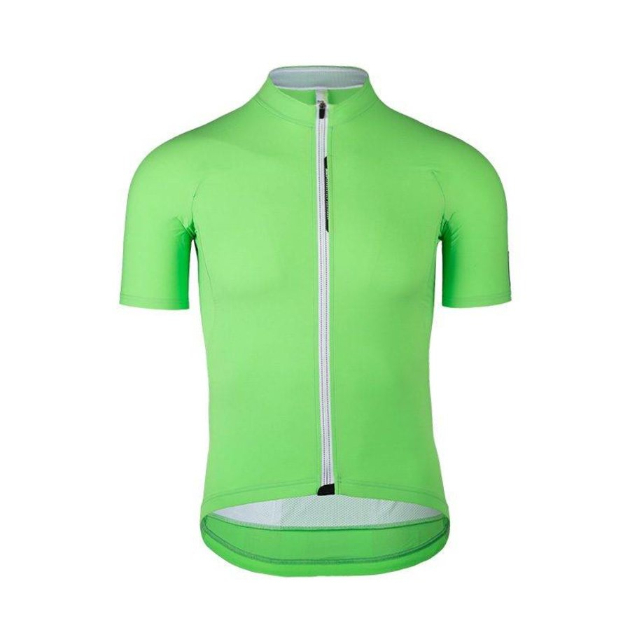 Q36.5 L1 Green Pinstripe Short Sleeve Jersey