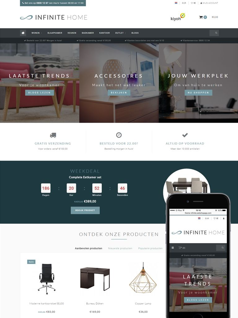 Theme Infinite Default | Themes for eCommerce