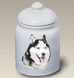 Cookie Jar Siberian Husky