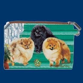 Coin Purse Pomeranian Captivating Canines