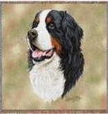 "54"" Lap Square Bernese Mountain Dog"