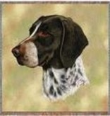 "54"" Lap Square German Shorthair Pointer"