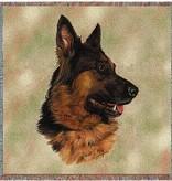 "54"" Lap Square German Shepherd"