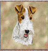 "54"" Lap Square Wire Fox Terrier"