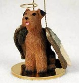 Angel Ornament Airedale Terrier