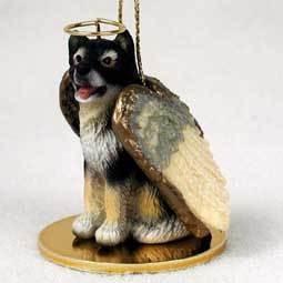 Angel Ornament Alaskan Malamute