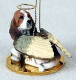 Angel Ornament Basset Hound