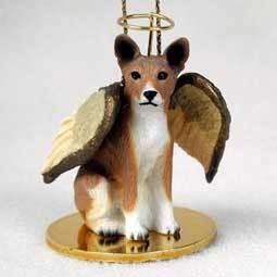 Angel Ornament Basenji