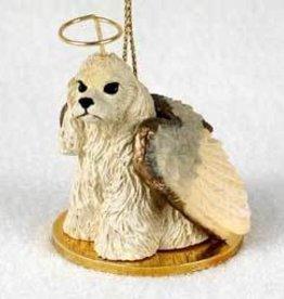 Angel Ornament Cocker Spaniel-Blonde