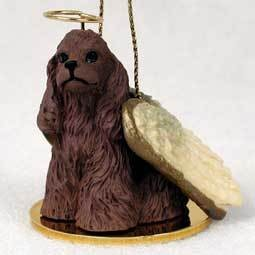Angel Ornament Cocker Spaniel-Brown