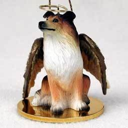 Angel Ornament Collie