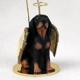 Angel Ornament Coonhound