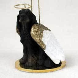 Angel Ornament Gordon Setter