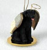 Angel Ornament Labrodor Retriever -Black