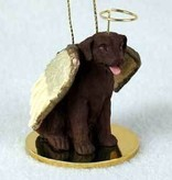 Angel Ornament Labrodor Retriever -Chocol