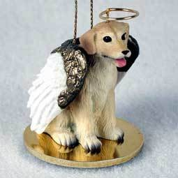 Angel Ornament Labrodor Retriever -Yellow