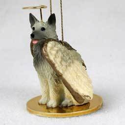 Angel Ornament Norwegian Elkhound