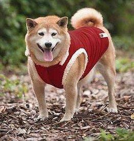Jacket - Red Ribbed - Large