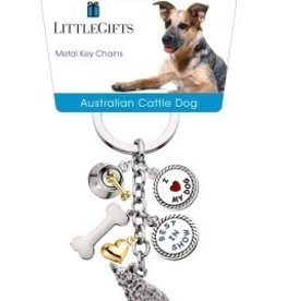 Little Gifts Key Chain Australian Cattle Dog