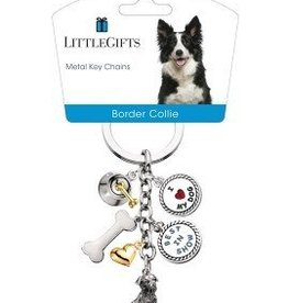 Little Gifts Key Chain Border Collie
